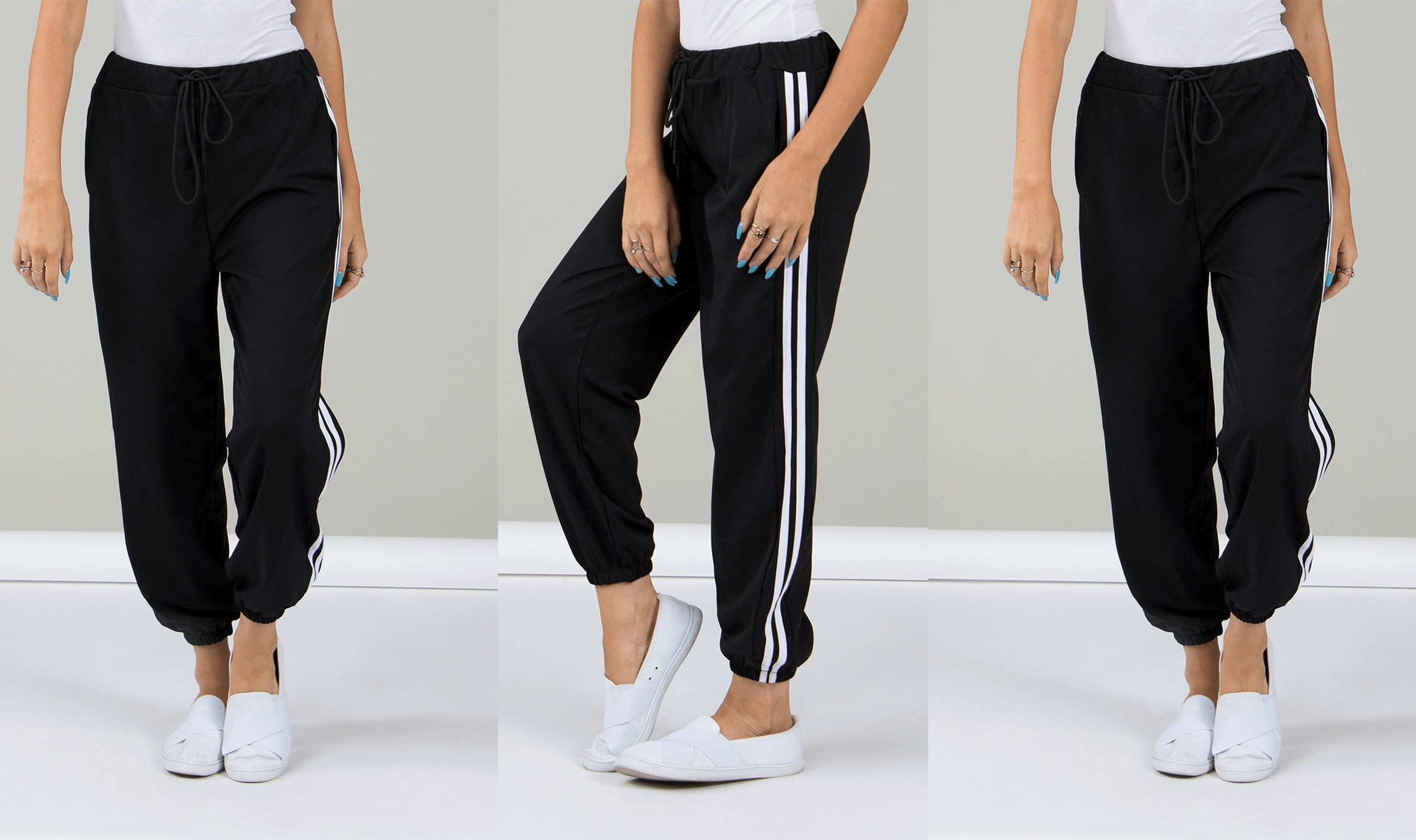 Athleisure: Relaxed AND Trendy - Side Stripe Joggers | Femme Connection