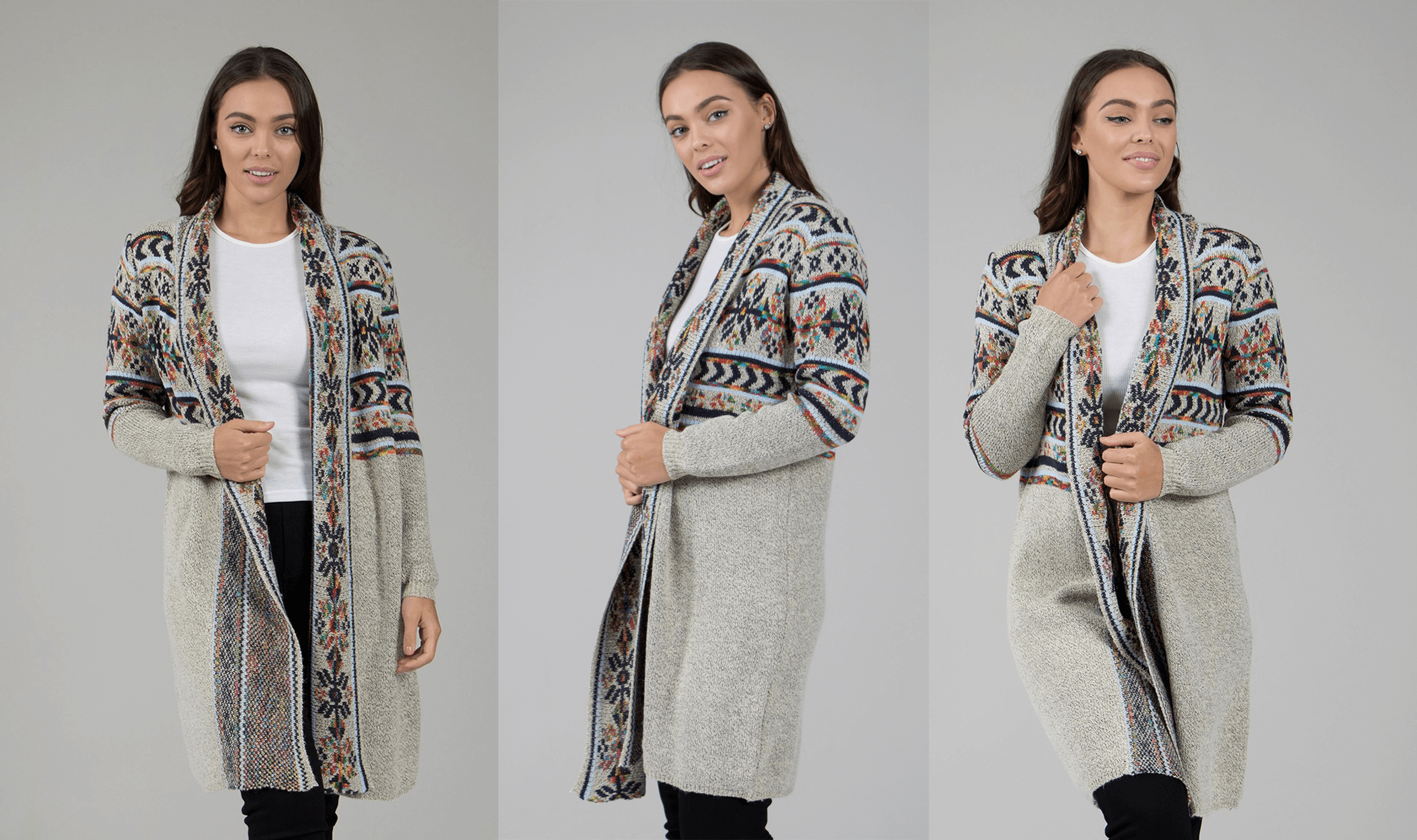 Aztec Prints for Autumn/Winter - Tribal Print Knit Cardigan | Femme Connection