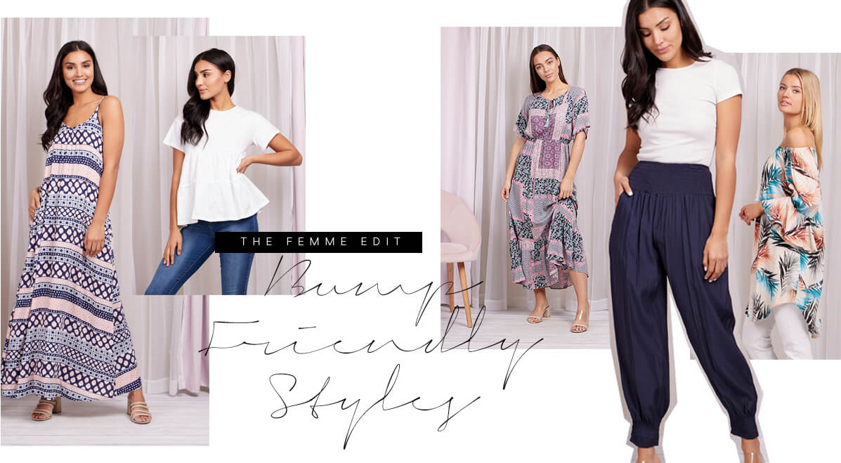 Bump Friendly Styles | Femme Connection