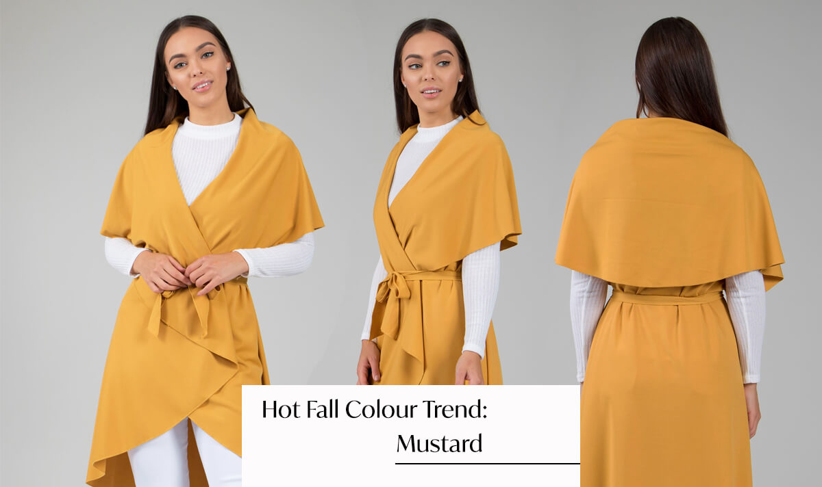 Colour Trend Mustard | Femme Connection