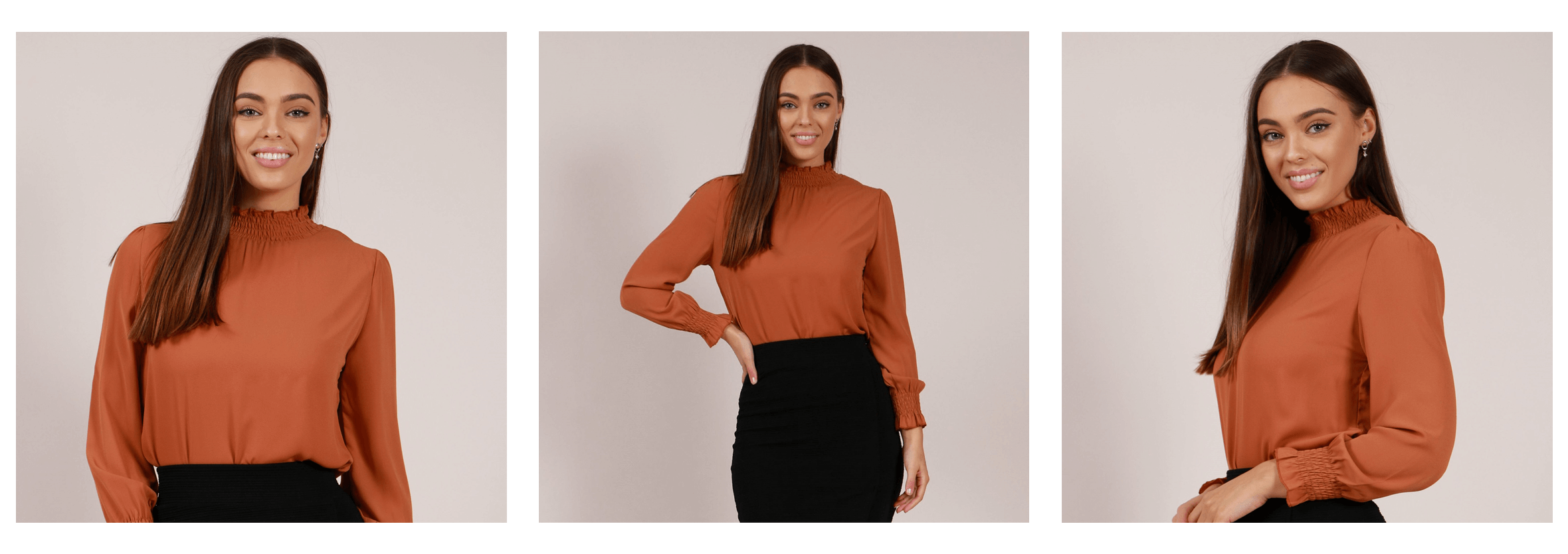 EOFYS Blowout 3 - Long Cuff Sleeve Blouse | Femme Connection