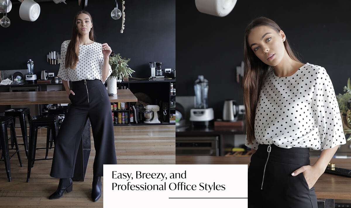 Easy, Breezy, and Professional Office Styles | Femme Connection