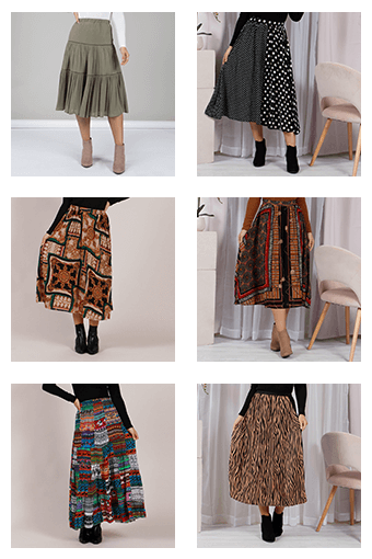 How to Style Midi & Maxi Skirts - Collage | Femme Connection