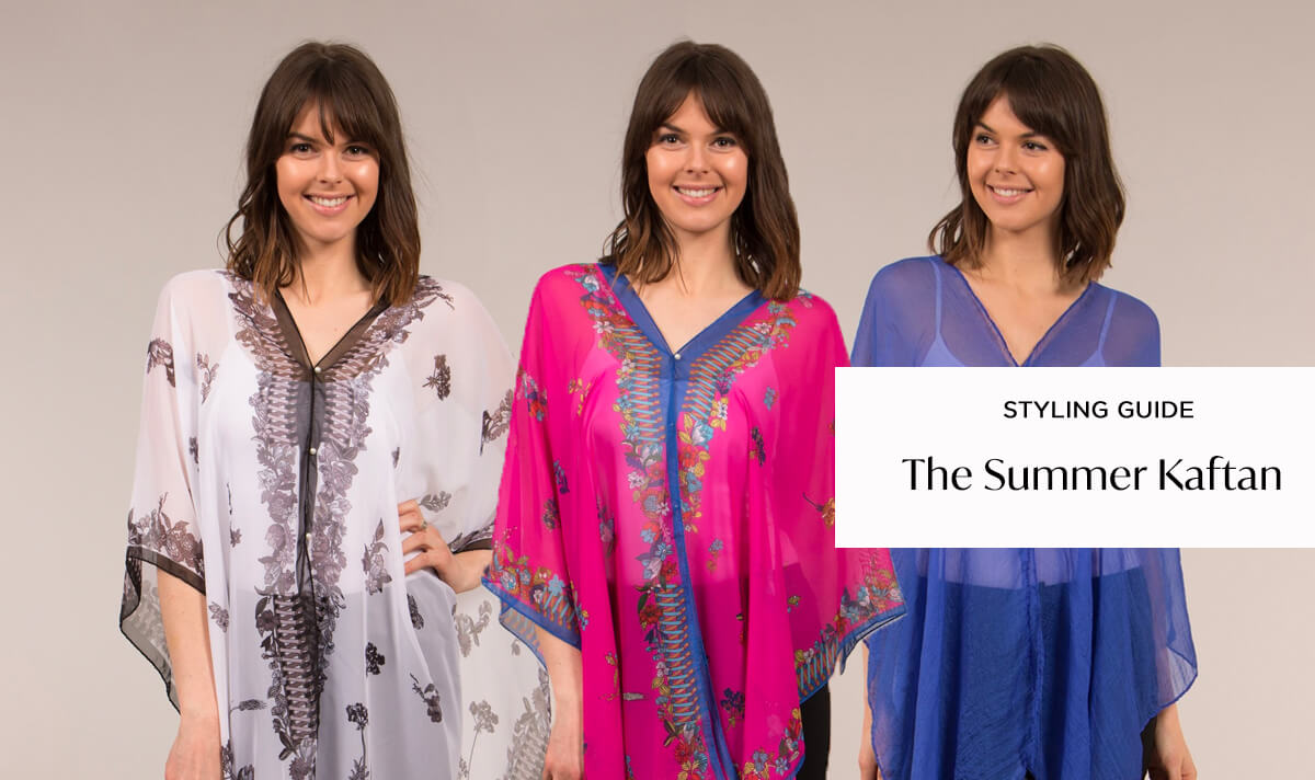 How to Wear the Summer Kaftan | Femme Connection