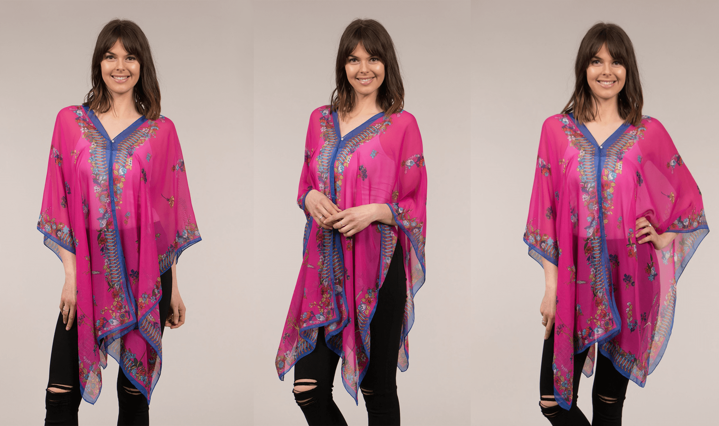 How to Wear the Summer Kaftan - Printed Kaftan | Femme Connection