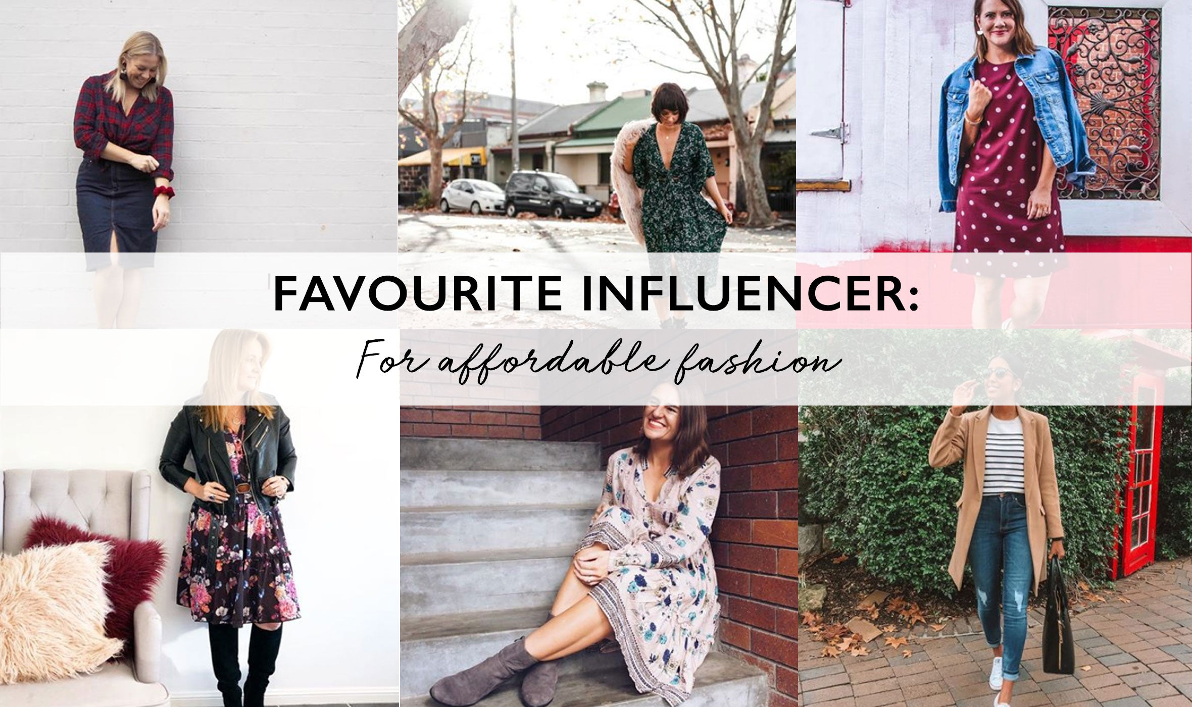 6 Fashion Influencers You Should Be Following