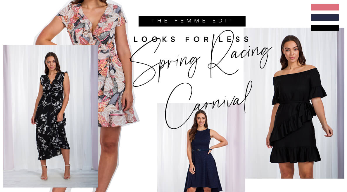 Looks for Less: Spring Racing Carnival | Femme Connection
