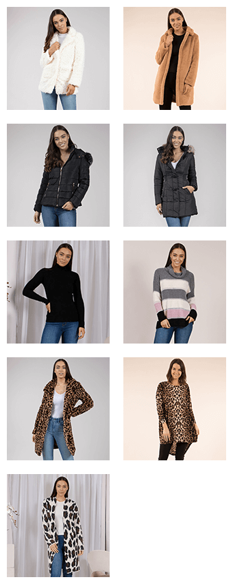 Luxe for Less - Coats, Jackets, and Roll Neck Tops | Femme Connection