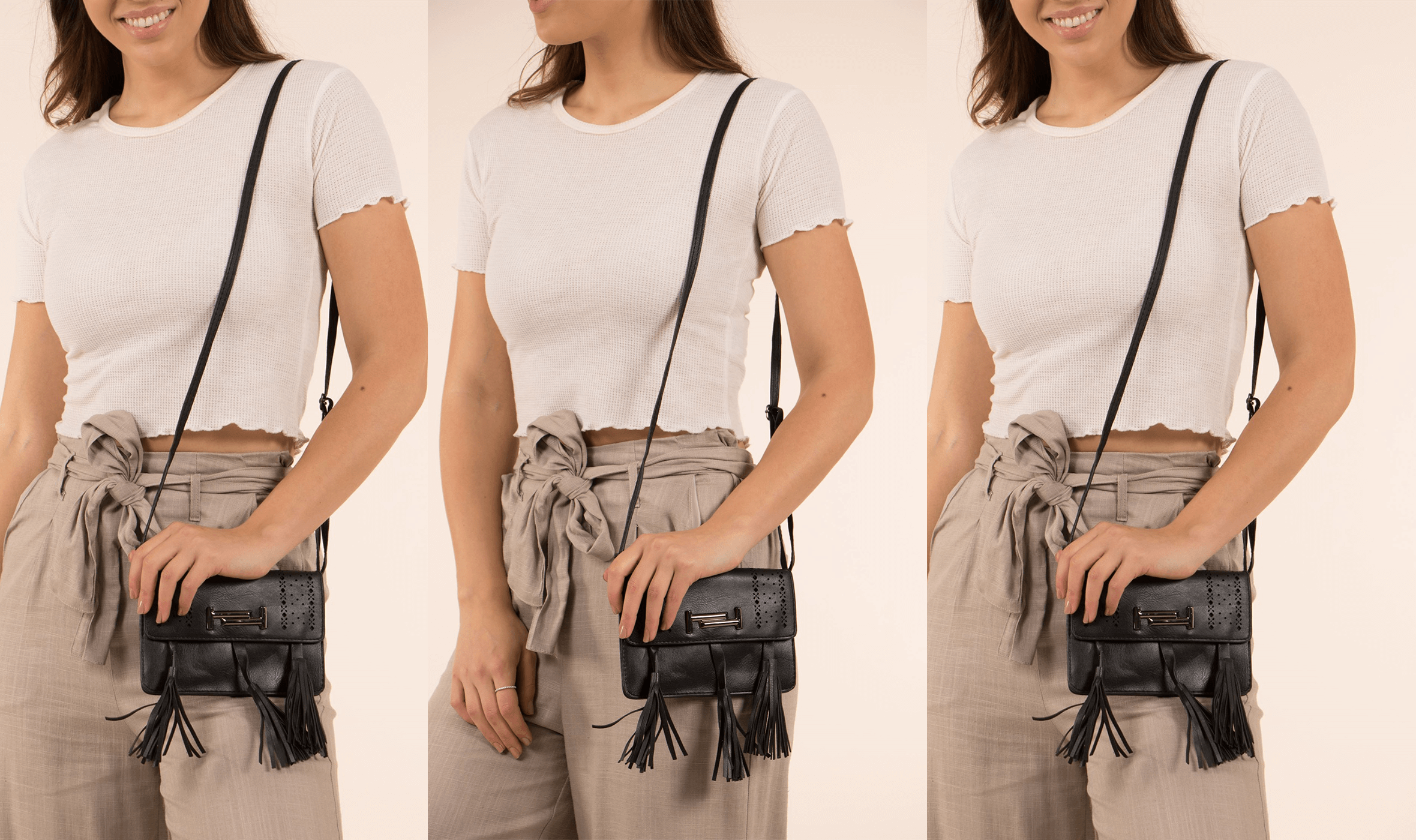 Small Bag, Big Impact - Stud & Tassel Bag | Femme Connection