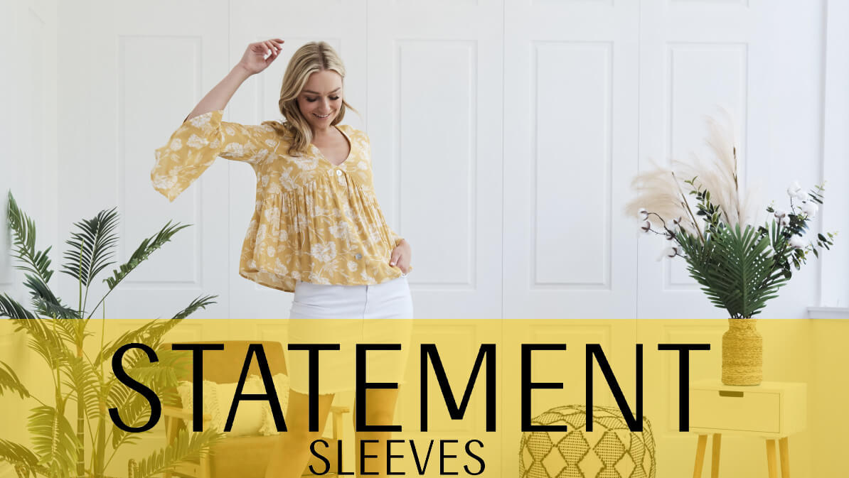 Statement Sleeves Featured | Femme Connection