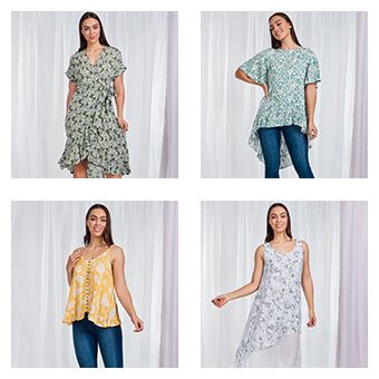 Summer Florals Collage | Femme Connection