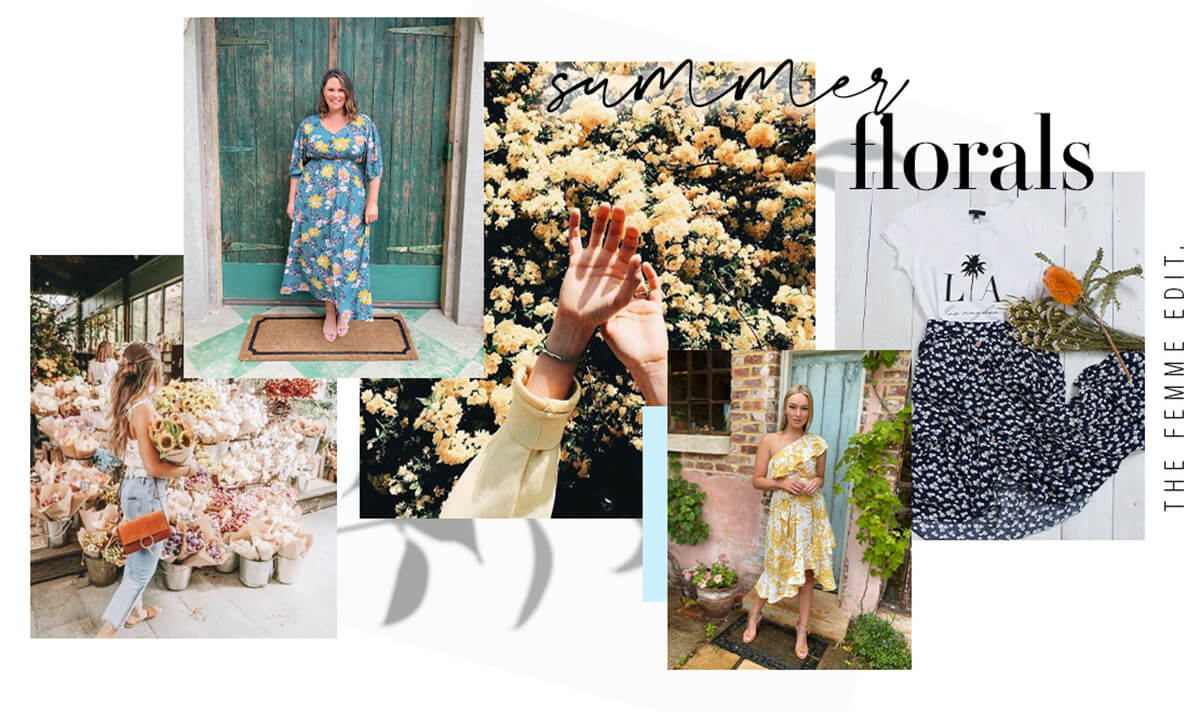 Summer Florals Featured | Femme Connection
