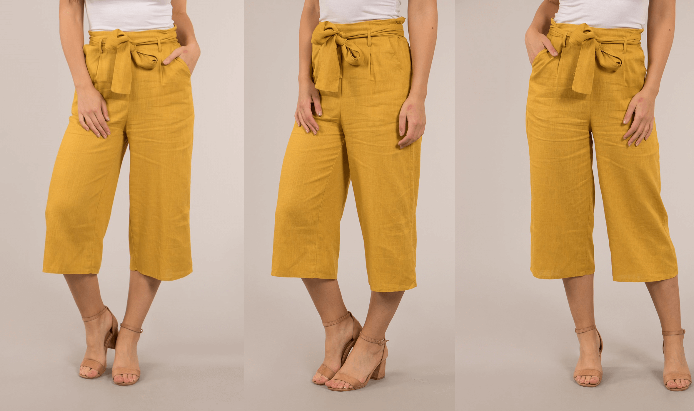 The 5 Items You Need to Be Wearing This Month - Basic Solid Culottes - Femme Connection