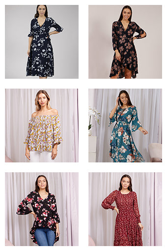 Trend Alert - Spring Florals Collage | Femme Connection