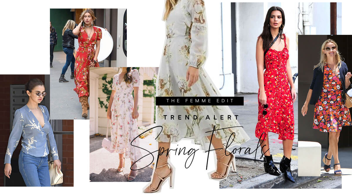 Trend Alert Spring Florals | Femme Connection