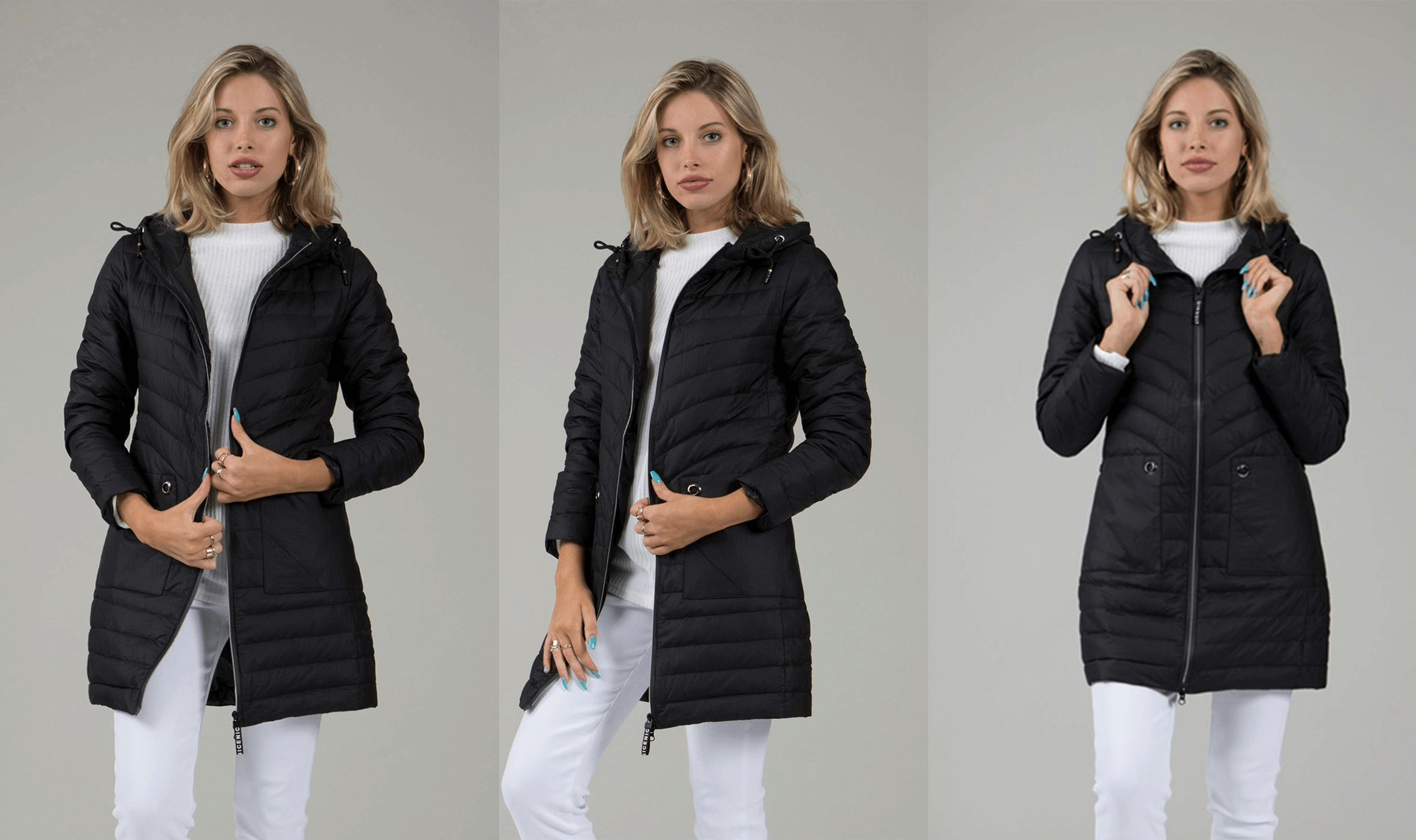Winter Warmers Puffer Coats - Padded Puffer Coat 2  | Femme Connection