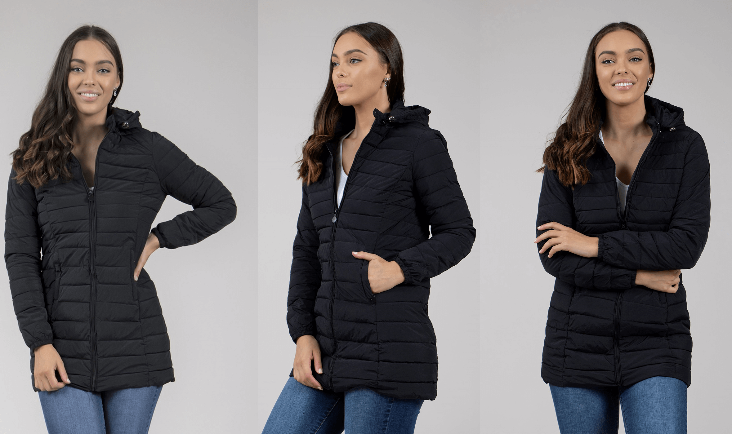 Winter Warmers Puffer Coats - Padded Short Puffer Coat | Femme Connection