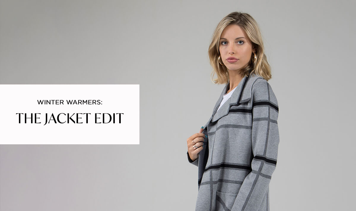 Winter Warmers The Jacket Edit | Femme Connection