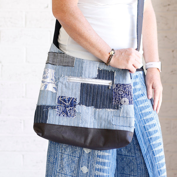 the Hobo - Upcycled Denim