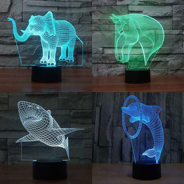 Lampeez The Best 3d Led Optical Illusion Lamp Store