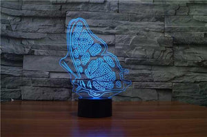Butterfly Wings 3D Illusion Lamp - Lampeez