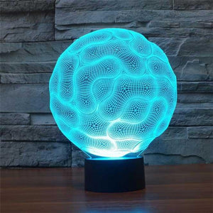 Brain 3D Illusion Lamp - Lampeez