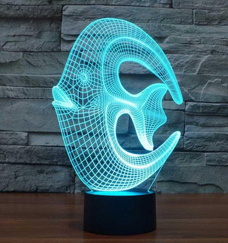 Coral 3D Illusion Lamp - Lampeez