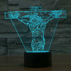 Jesus 3D Illusion Lamp - Lampeez