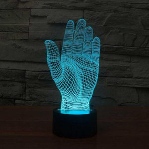 Palm 3D Illusion Lamp - Lampeez