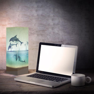 Dolphins Shadow Illusion Lamp - Lampeez