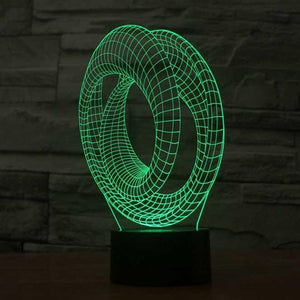 Roller Coaster 3D Illusion Lamp - Lampeez