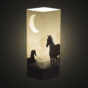 Horses Shadow Illusion Lamp - Lampeez