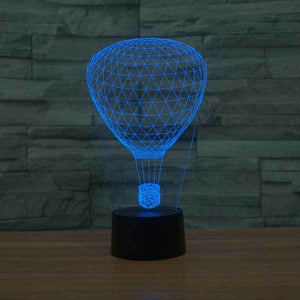 Hot Air Balloon 3D Illusion Lamp - Lampeez