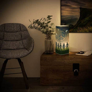 Peace Shadow Illusion Lamp - Lampeez