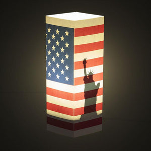 US Flag Shadow Illusion Lamp - Lampeez