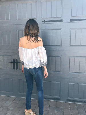 Lush Off Shoulder Top