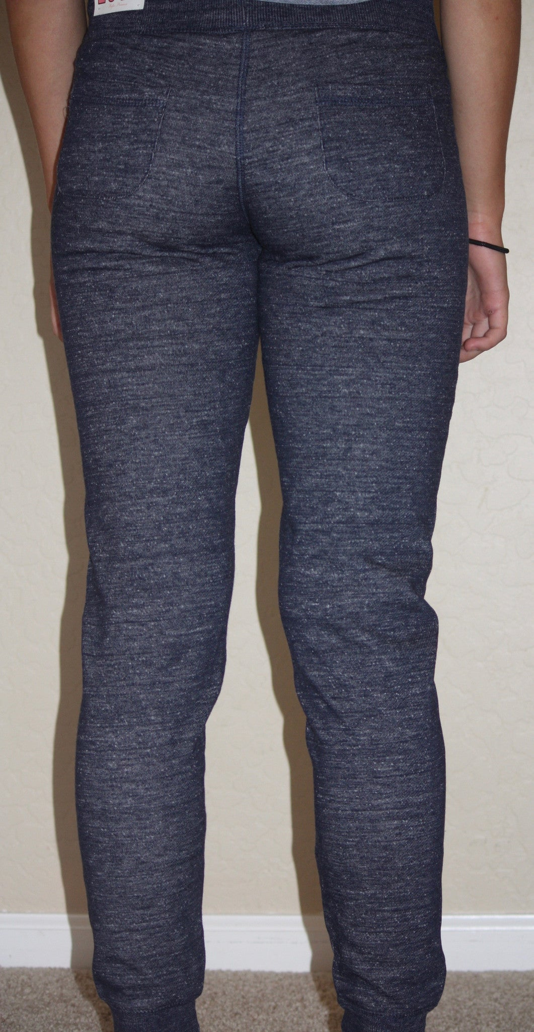 Solid Fleece Jogger Pants