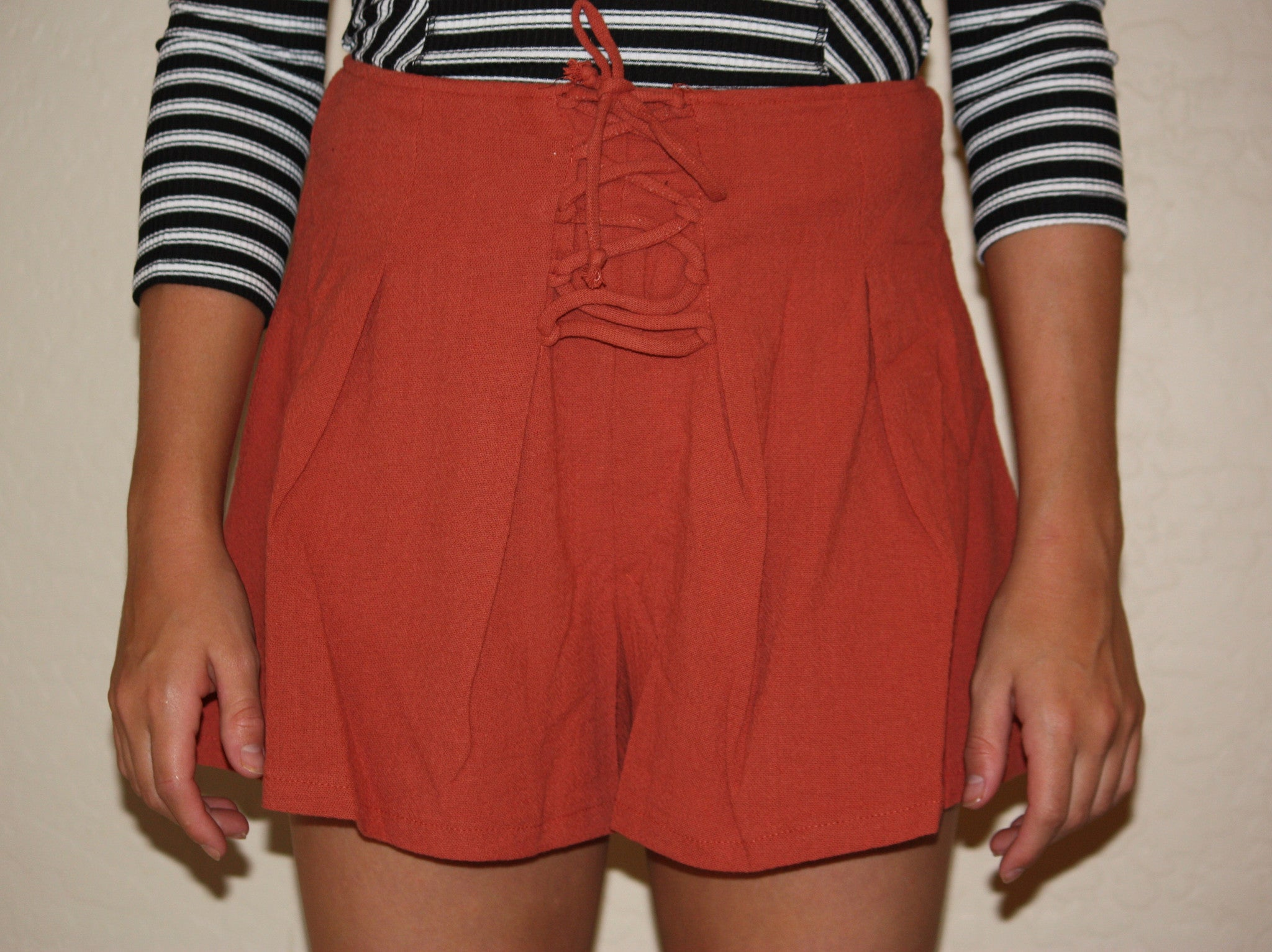 Lace Up Short