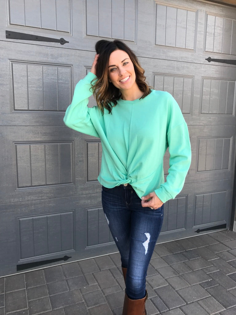 Dusty Jade Sweatshirt