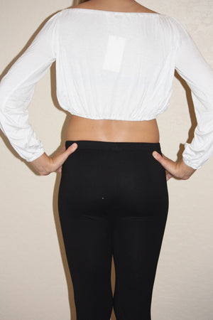Long Sleeve Crop Top