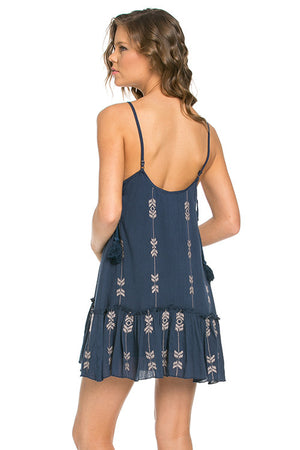 Embroidery Cami Dress