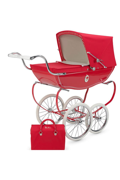 Chatsworth Dolls Pram Red Poppy