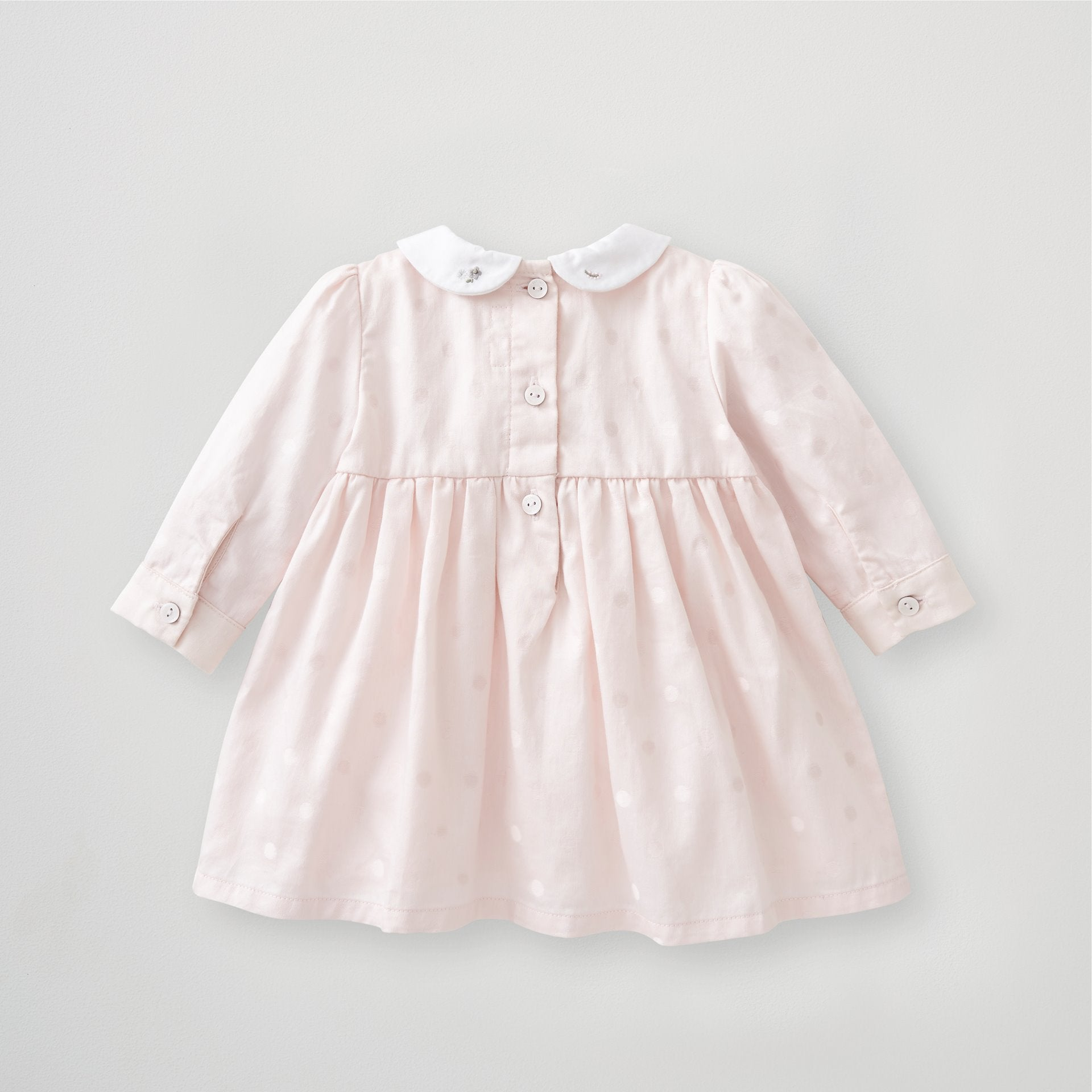 Girls Long Sleeve Smock Dress 3-6 Months