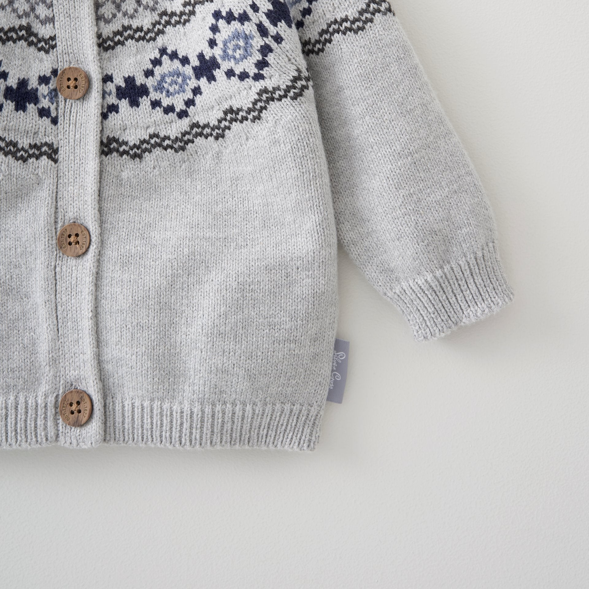 Fairisle Cardigan Newborn