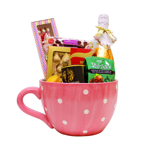 Candy-Filled Tea Cup