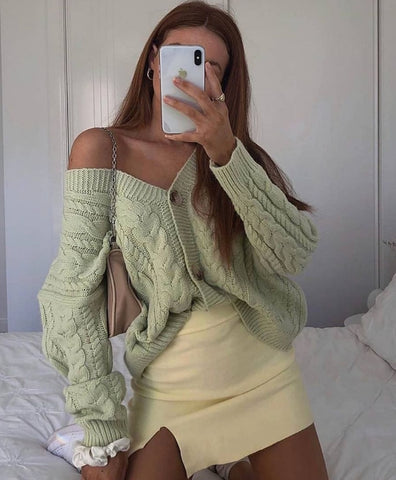 Cupid Knitted Jumper - Sage