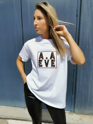 All About Eve Intrigue Animal Tee - White