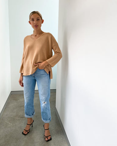 Imdie Knit Jumper - Tan