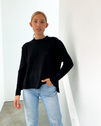 Sadie Knit Jumper - Black
