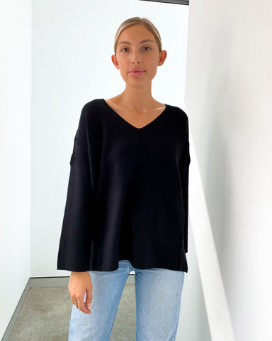 Imdie Knit Jumper - Black